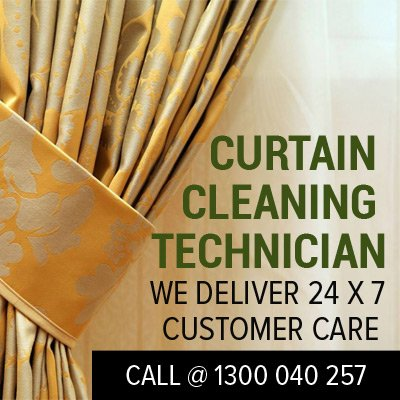 Curtain & Blind Cleaning Services in West End