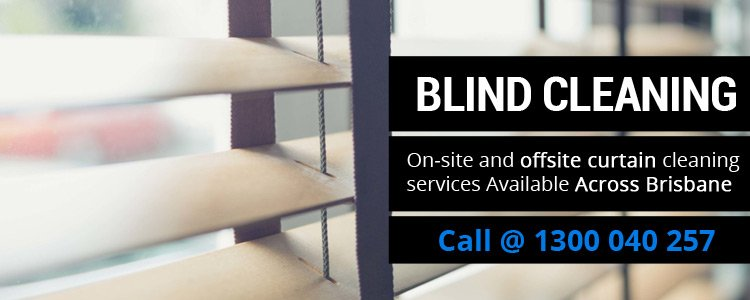 On-site and offsite Blind cleaning services available across Brassall