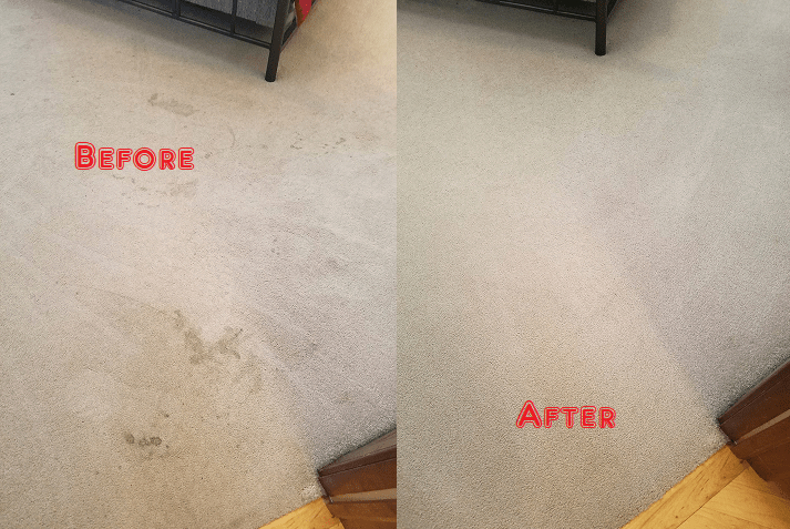 Carpet Steam Cleaning Round Corner