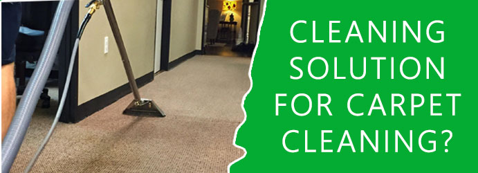 Cleaning Solution For Carpet Cleaning