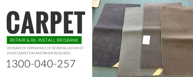 Carpet Repair and Re-Install Brisbane