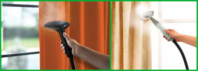On-site Curtain Cleaning in Clayfield