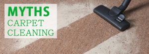 MYTHS Carpet Cleaning Brisbane