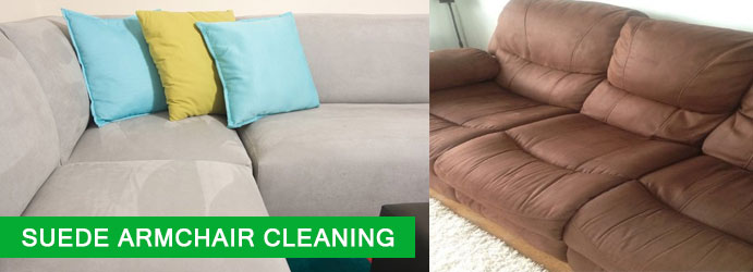 Suede Armchair Cleaning White Mountain