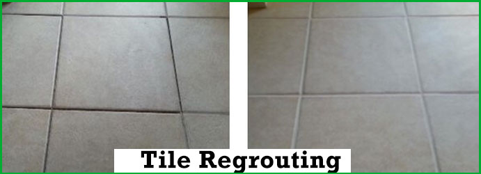 Tile Regrouting in Ivory Creek