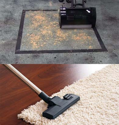 Carpet hot Watet Extraction