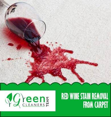 Carpet Red wine Stain Removal Oyster Cove