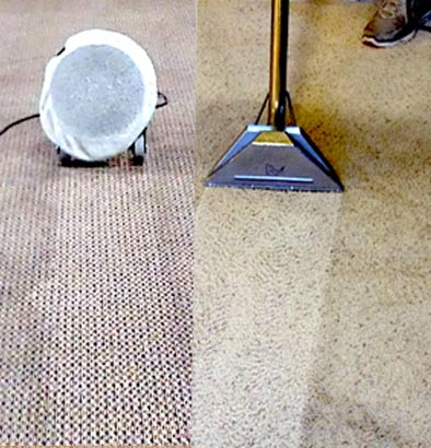 Hot Water Extraction Carpet