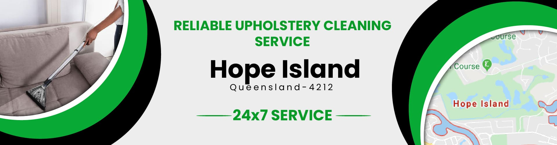 Upholstery Cleaning Hope Island