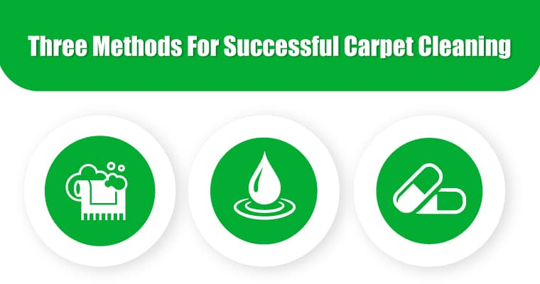 Three Methods For Successful Carpet Cleaning